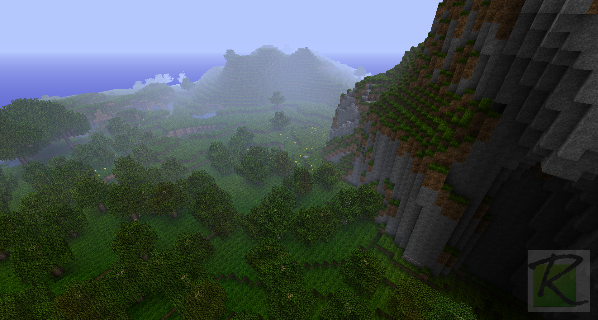 Lush Green Forest Landscape Minecraft Screenshots A