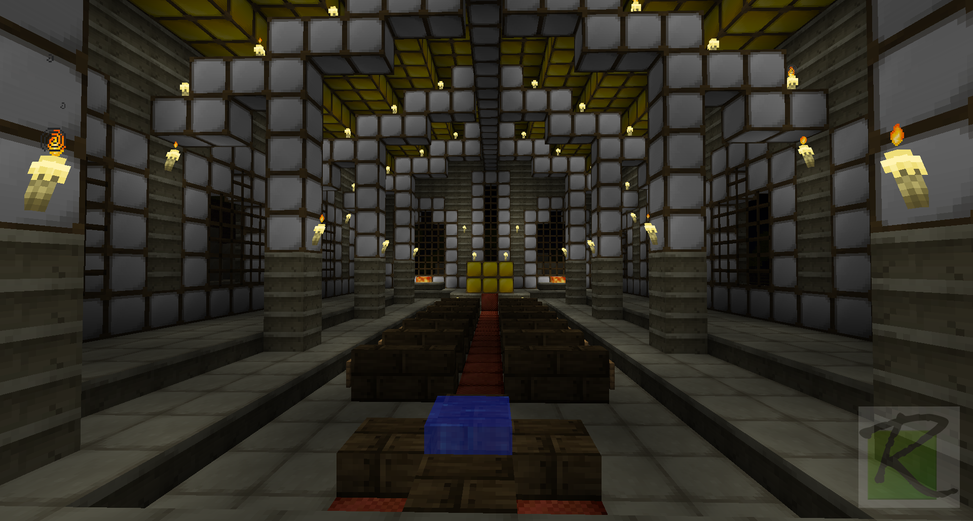 Interior Decorating For The Temple Of Sun Minecraft