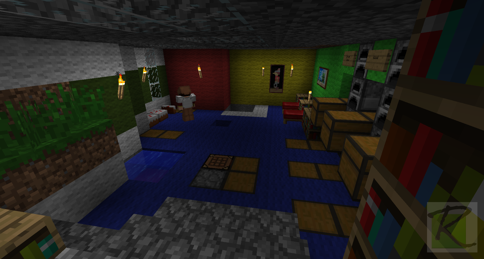 Minecraft House Designs Interior