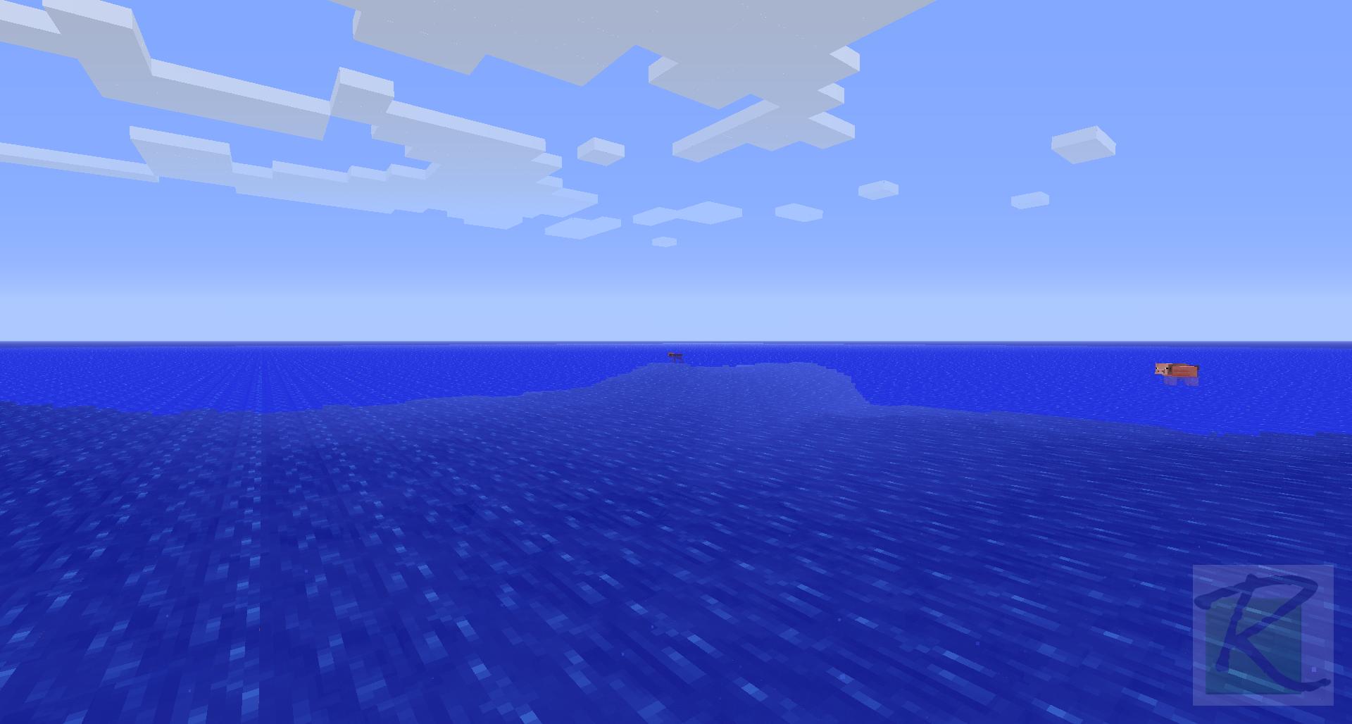 Spawn Fail: the Ocean | Minecraft Screenshots- A visual ...