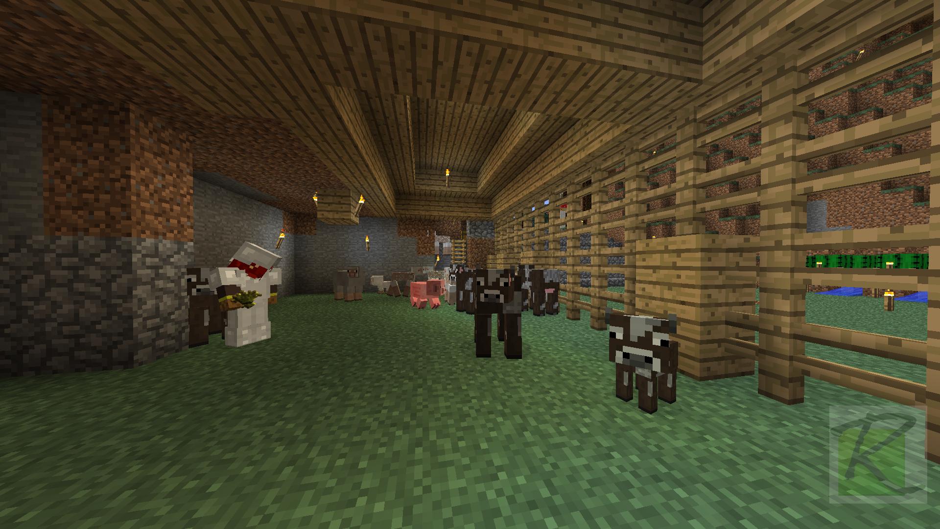 Animal Breeding Barn Minecraft Screenshots A Visual